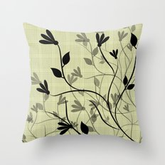 Whispering Breeze Throw Pillow