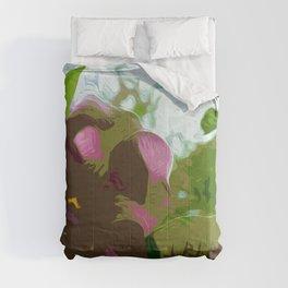 Amalthea by David Randal Miller Comforters