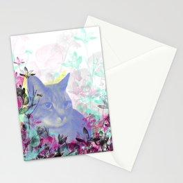 Lazy Kitty Stationery Cards