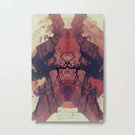 THE UNEXPLORED Metal Print