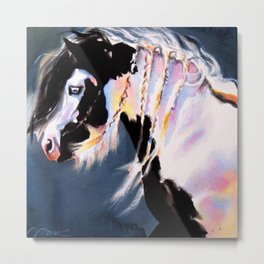 Gypsy Vanner Beauty Metal Print
