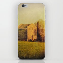 A cute small stone house without windows iPhone Skin