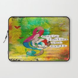 Music Ignites Our Souls Laptop Sleeve