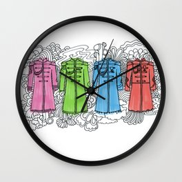 Sgt Pepper Opt 1 Wall Clock