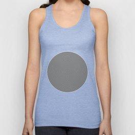 Hypnotic Circles optical illusion Unisex Tank Top