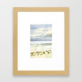 Plage Laiteuse de La Baule Framed Art Print