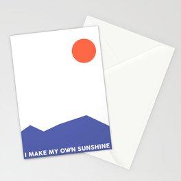 i make my own sunshine Stationery Cards