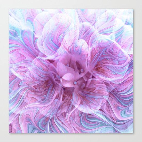 Fractal Flower 3 Canvas Print