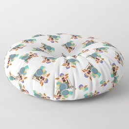 Drummer Pattern | Drums Musician Percussion Music Floor Pillow