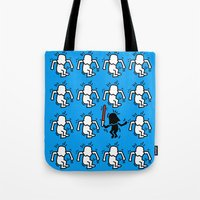 keith haring Tote Bags featuring Keith Haring & star W. by le.duc