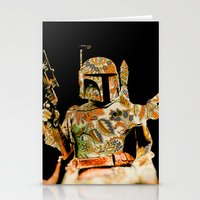 boba Stationery Cards featuring Boba by Robotic Ewe