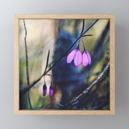 Woodland Bells Framed Mini Art Print