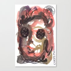 Carte Postale 3 Canvas Print