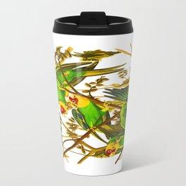 Carolina Parrot Metal Travel Mug