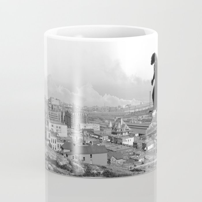 Old Time Godzilla Coffee Mug