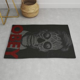 They Live. Obey. Screenplay Print. Rug