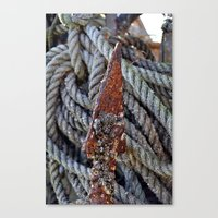 tool Canvas Prints featuring FISHERMAN'S TOOL by  Agostino Lo Coco