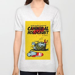 CANNIBAL HOLOCAUST BOULE ET BILL Unisex V-Neck