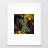 wicked Framed Art Prints featuring Wicked by Christy Leigh