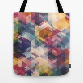Cuben Curved #8 Tote Bag