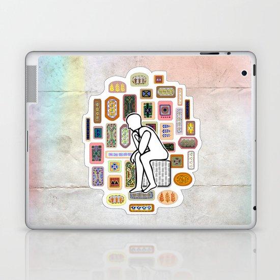 Thinking Man Laptop & iPad Skin