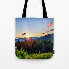 White Mountain Sunset Tote Bag