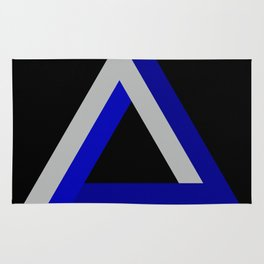 Impossible Triangle Rug