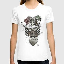 Esqueleton Illustration by Javi Codina T-shirt