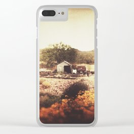 Below the Mountain Clear iPhone Case