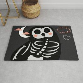 My Skeleton Friends - Owl Rug