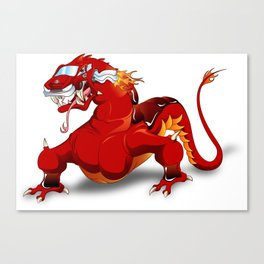 Dracar (Dragon Car) Canvas Print