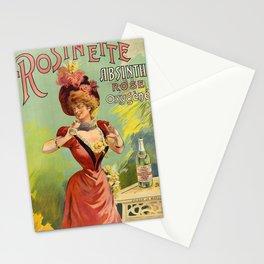 Vintage poster - Rosinette Absinthe Stationery Cards