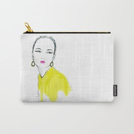 just yellow Carry-All Pouch