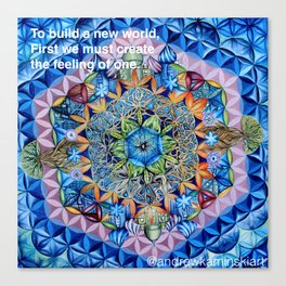 Sacred Geometry - Andrew Kaminski Art Print Canvas Print