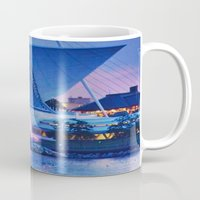 milwaukee Mugs featuring Milwaukee Art Museum by Alaina Abplanalp