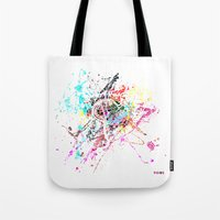 rome Tote Bags featuring Rome by Nicksman