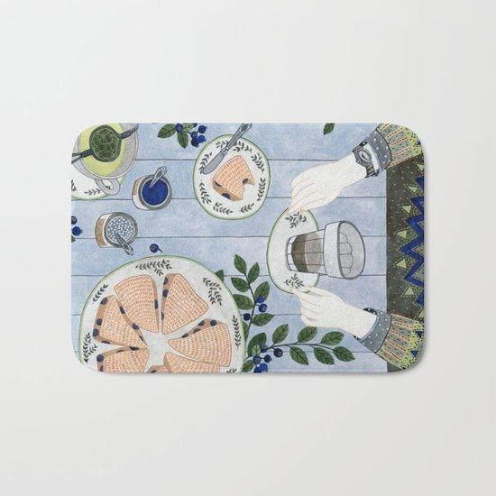 Blueberry Scones Bath Mat