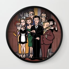 It's a Clue! Wall Clock