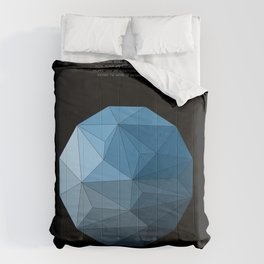 Continuum black Comforters