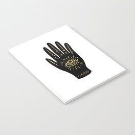 Evil Eye Hand Notebook