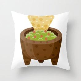 Guacamole Throw Pillow