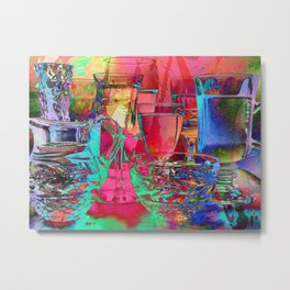 Colorful Reflections Metal Print