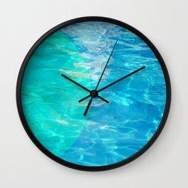 semi circle pool 9689 Wall Clock