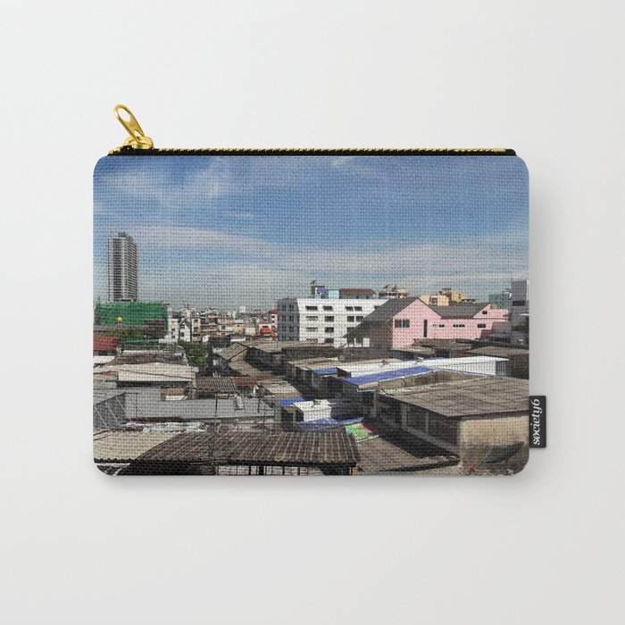 Communities in the capital of Thailand. Carry-All Pouch