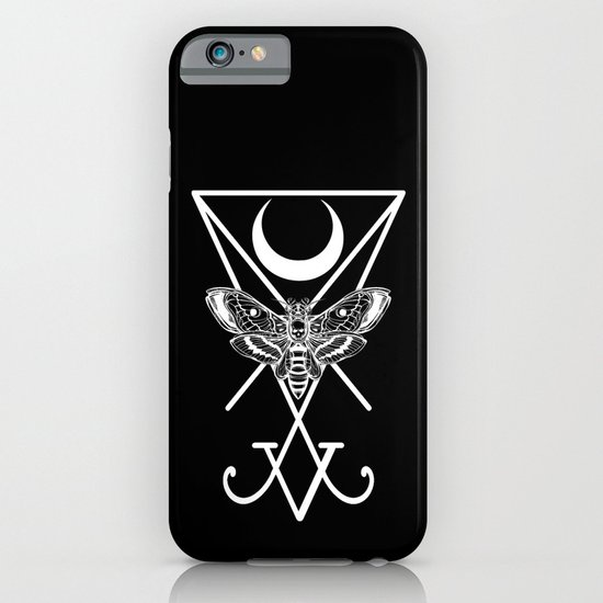 Occult Death Moth iPhone & iPod Case