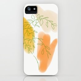 Mama's Mandarine Tree iPhone Case