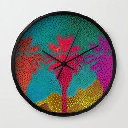 Palm Springs Retro Wall Clock