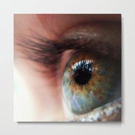 Her eye Metal Print