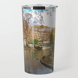 Parc Monceau in Autumn Travel Mug