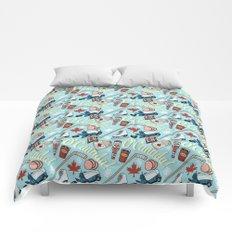 Canada Pattern Comforters